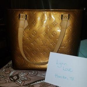 Louis Vuitton bronze Houston